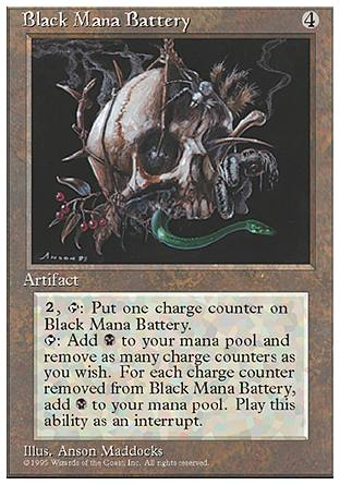 Black Mana Battery