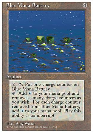 Blue Mana Battery