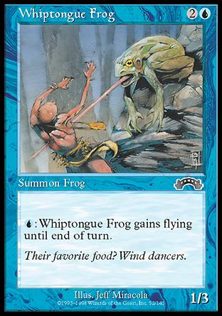 Whiptongue Frog