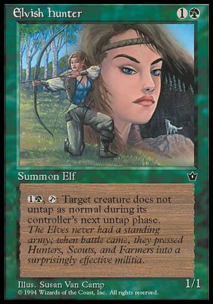 Elvish Hunter (3)