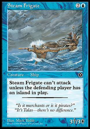 Steam Frigate