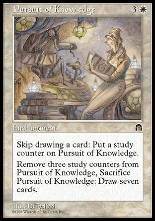 Pursuit of Knowledge